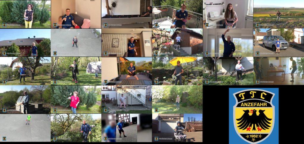 Filmprojekt des TTC: #WirBleibenZuhause
